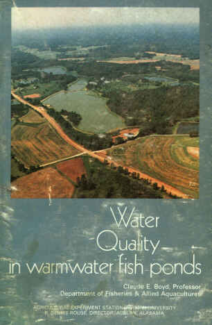 Boyd water quality in warmwater fish ponds for Koi pond water quality